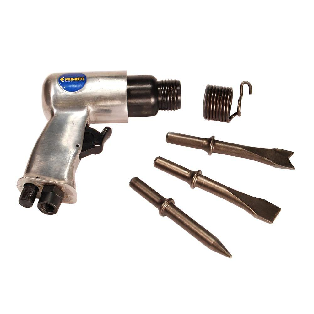 Primefit Air Hammer and Chisel with (3) Chisel Bits