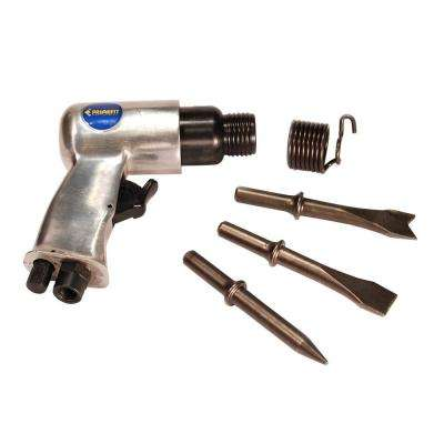 Air Hammer and Chisel with (3) Chisel Bits