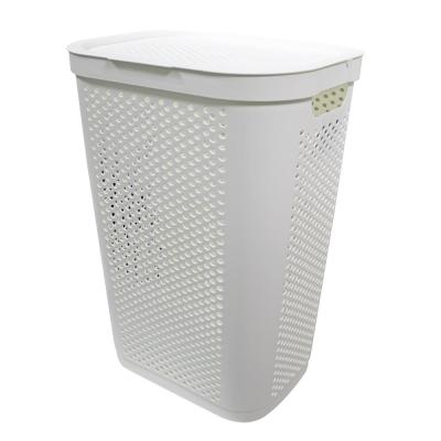 Modern Homes 60 L Laundry Hamper White