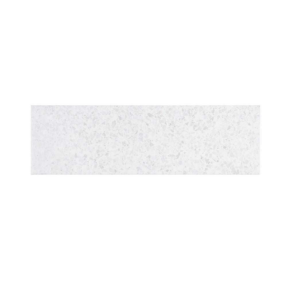 Jeffrey Court Ice Breaker 6 in. x 20 in. Glazed Ceramic Wall Tile (0.833 sq. ft. / each)