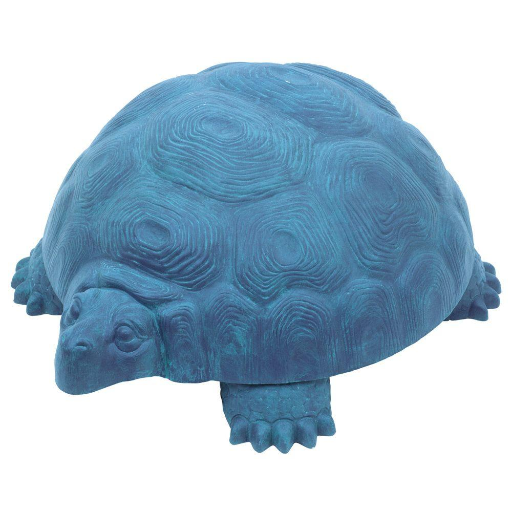 Emsco 12 in. Tortoise Statue with Storage