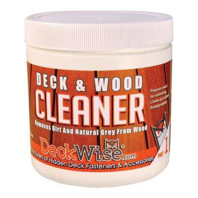 16 oz. Deck and Wood Cleaner Part 1
