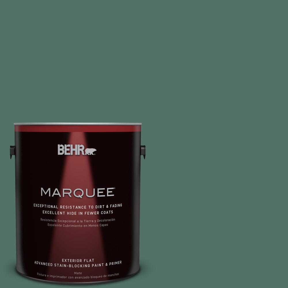 BEHR MARQUEE 1-gal. #470F-6 Hilltop Flat Exterior Paint