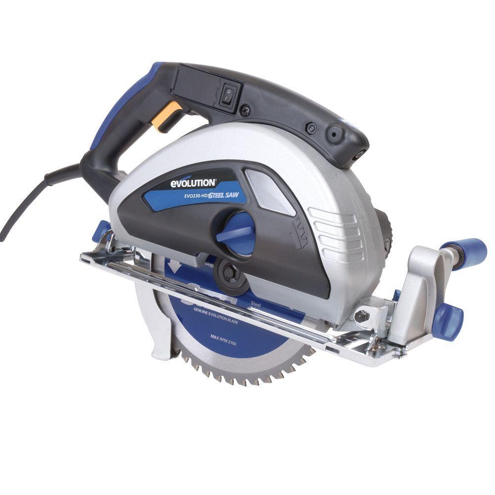15-Amp 9 in. Steel Cutting Circular Saw