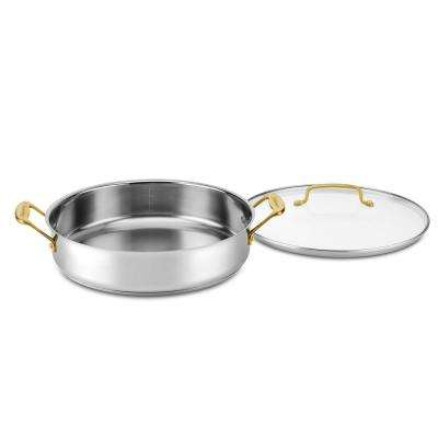 Minerals Collections 5 Qt. Stainless Steel Casserole with Cover