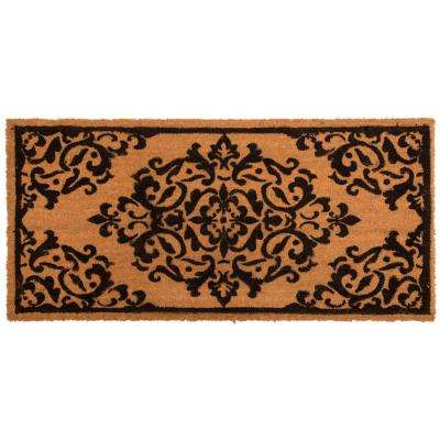 Nicole Miller Patio Fremont Flourish 22 in. x 47 in. Door Mat