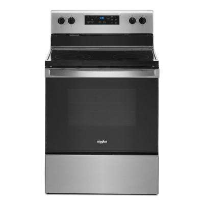 5.3 cu. ft. Electric Range with 4-Elements and Frozen Bake Technology in Stainless Steel