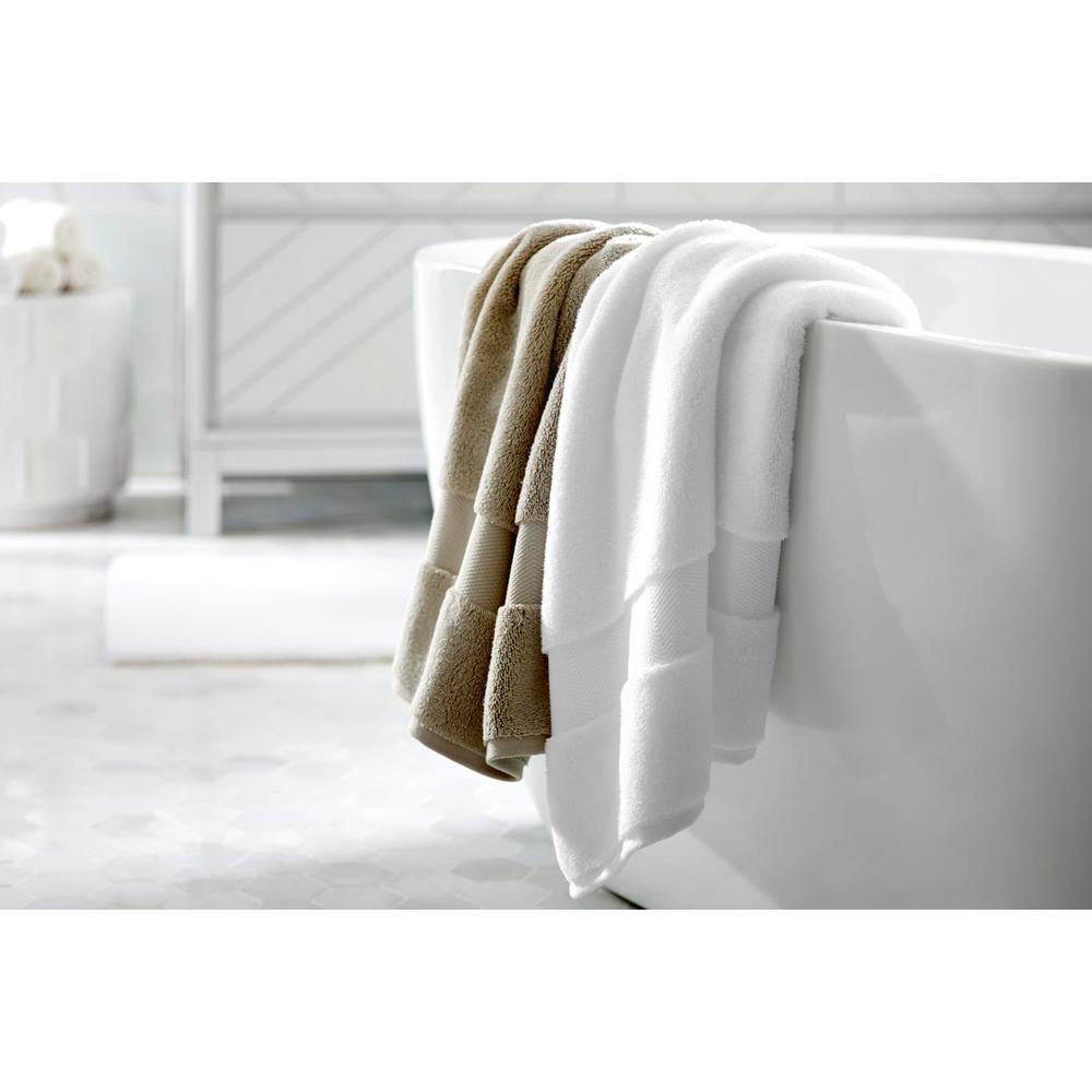 Plush Soft Cotton 18-Piece Towel Set in Biscuit