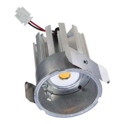 4 in. Silver Integrated LED Recessed Trim Light Engine 3500K CCT