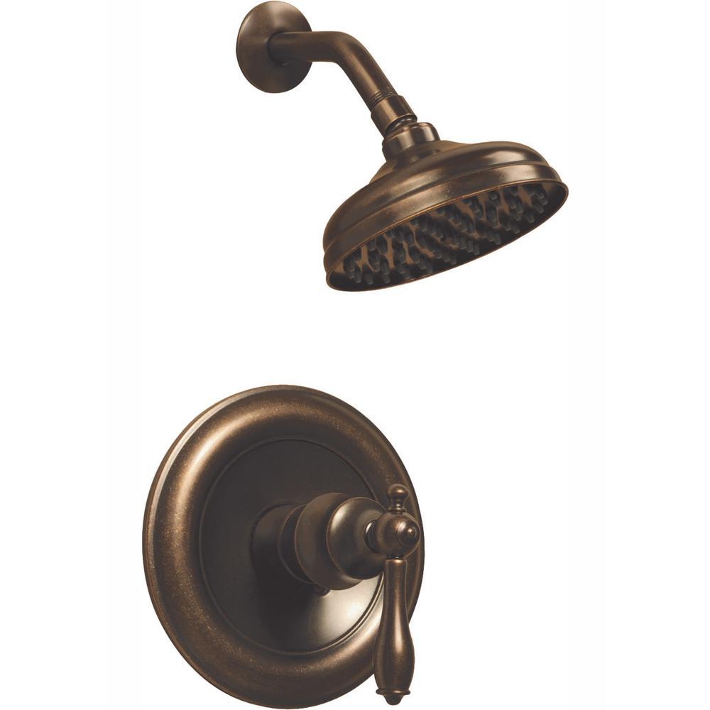 Glacier Bay Estates Single-Handle 1-Spray Shower Faucet (Heritage Bronze)
