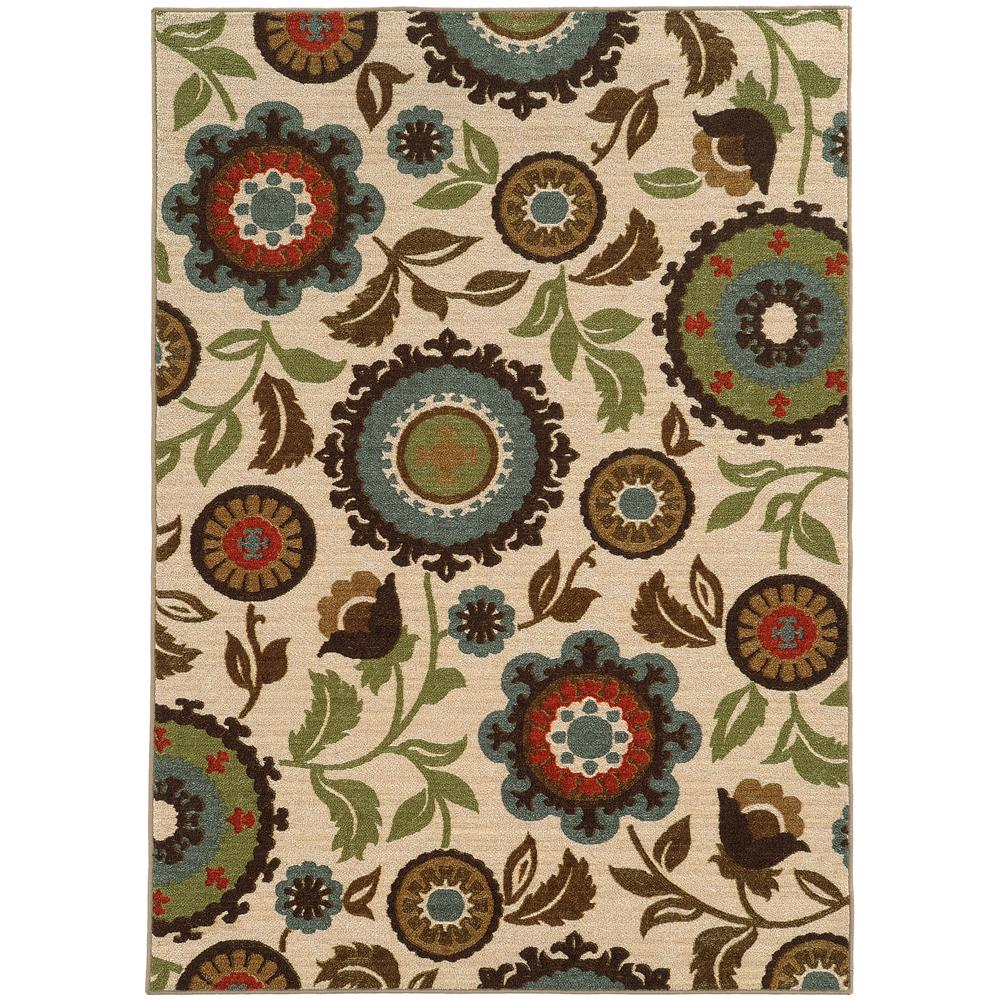 Home Decorators Collection Seabrook Tan 5 ft. x 7 ft. Area Rug