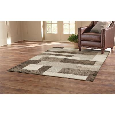 Asher Brown 8 ft. x 10 ft. Area Rug