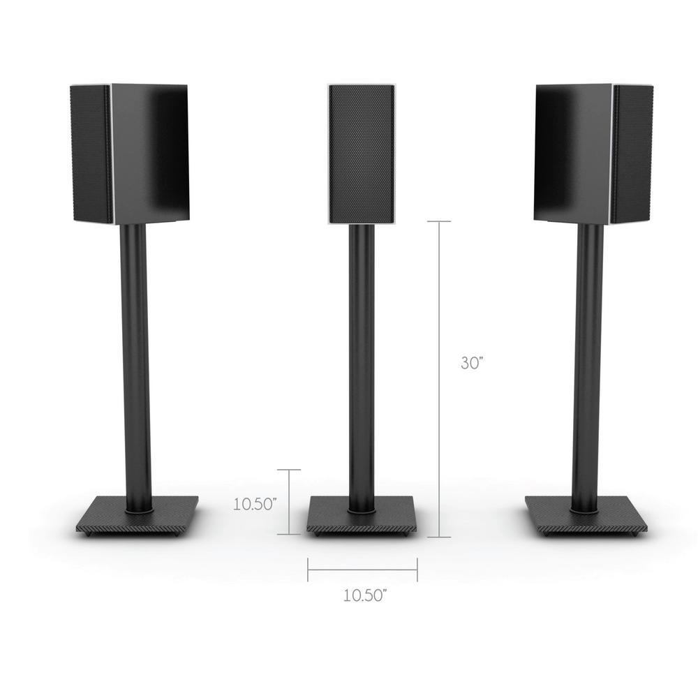 Internet 203462502 Atlantic Adjustable Bookshelf Speaker Stand