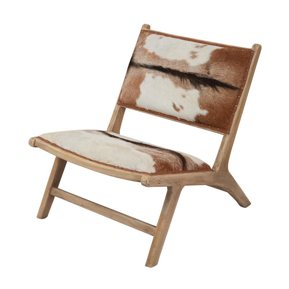 titan lighting goatskin leather lounge chair tn 892325 the home depot