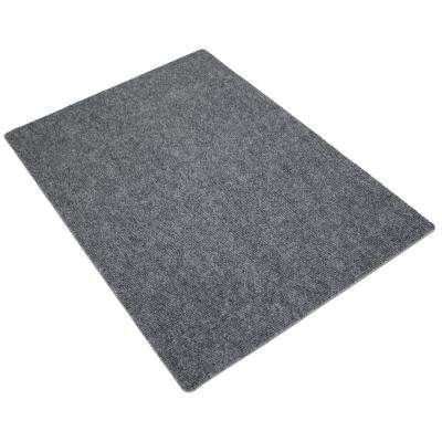 Charcoal 28 in. x 20 in. Cat Litter Trapping Mat