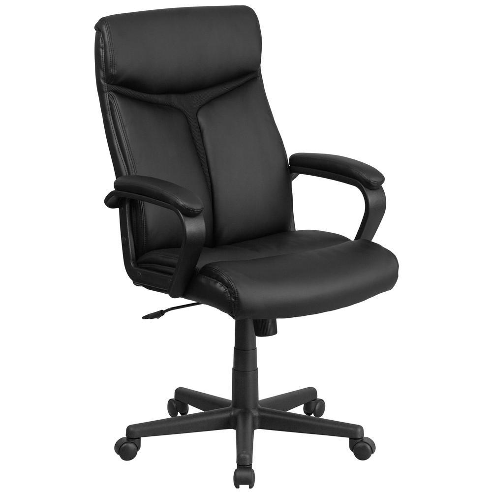 Flash Furniture Black Office Desk Chair Cga Go 191733 Bl
