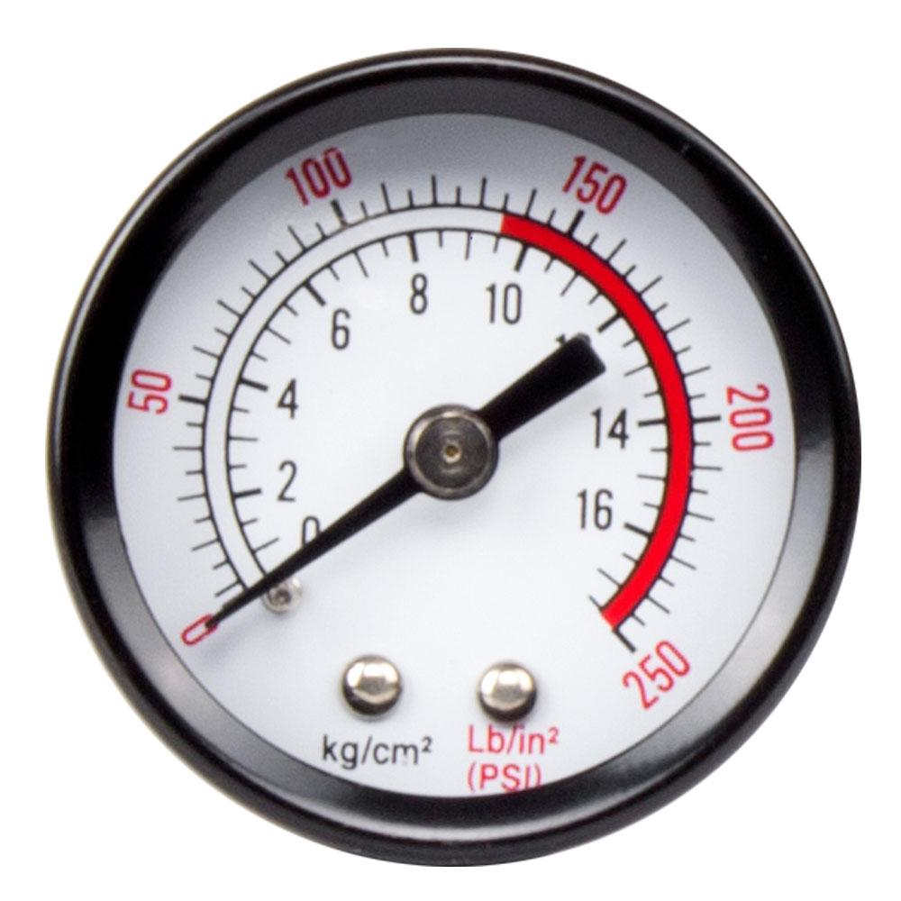 Replacement 1.5 in. Backmount Gauge for Husky Air Compressor