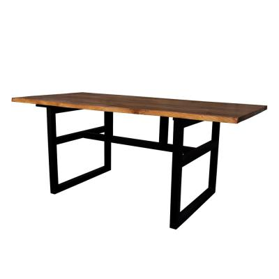 Grove Brown Live Edge Dining Table