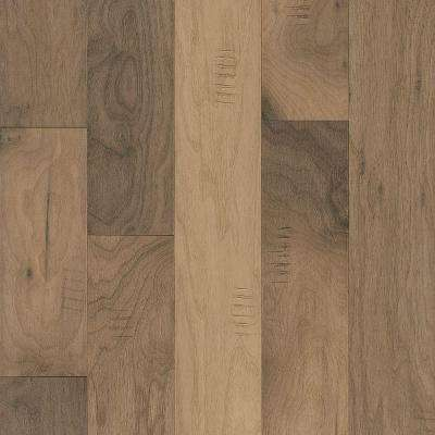 Walnut Shades of White 3/8 in. Thick x 5 in. Wide x Varying Length Engineered Hardwood Flooring (25 sq. ft. / case)