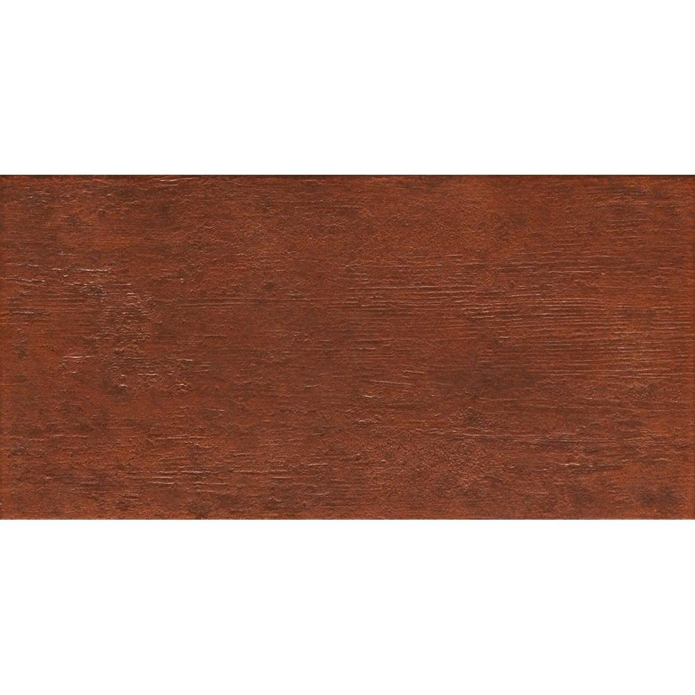 MARAZZI Riflessi di Legno 23-7/16 in. x 5-13/16 in. Cherry Porcelain Floor and Wall Tile (9.46 sq. ft. / case)