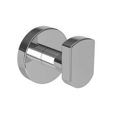 Bronwen Single Robe Hook in Polished Chrome