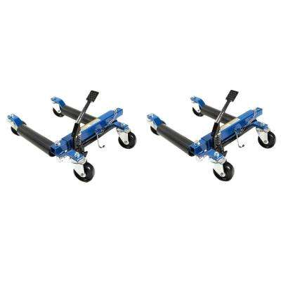 1500 lb. 12 in. Hydraulic Car Wheel Dolly (2-Pack)