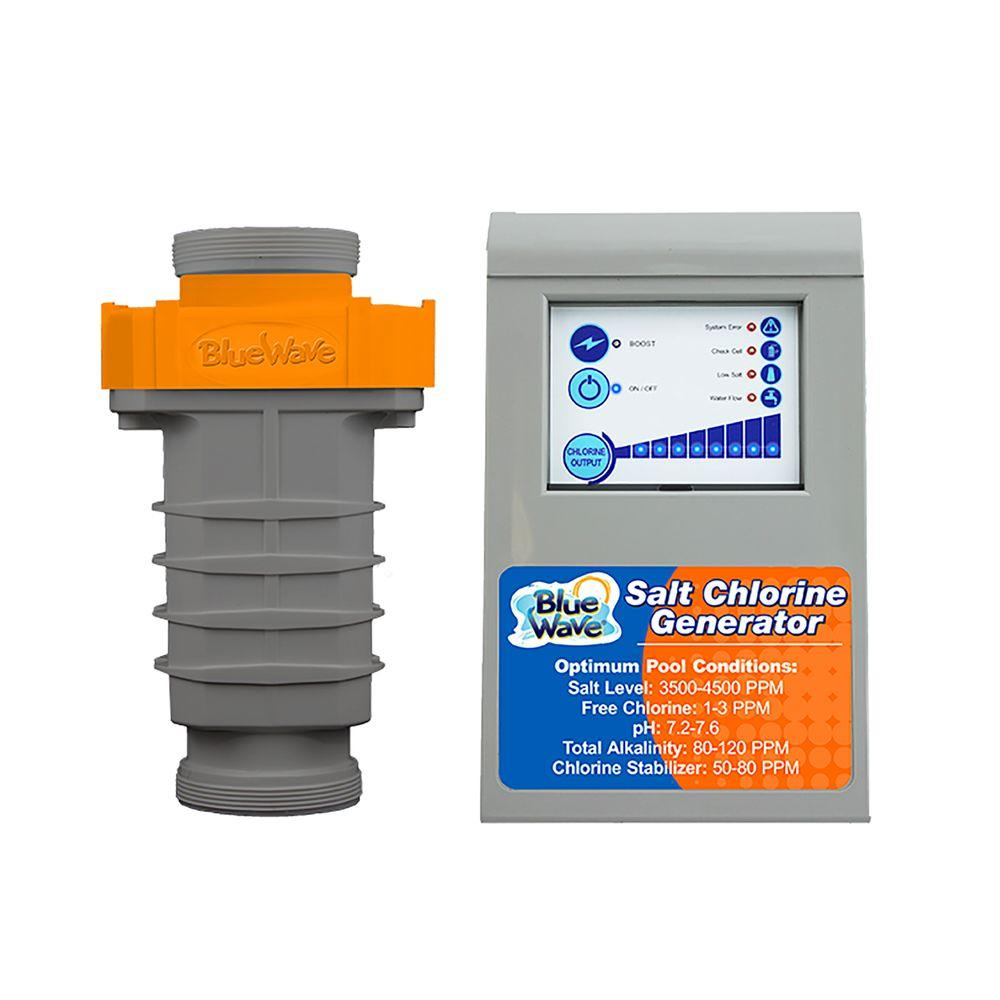 Salt or chlorine pool - Blue Wave Endurachlor Salt Chlorine Generator For Up To 15 000 Gal Pool