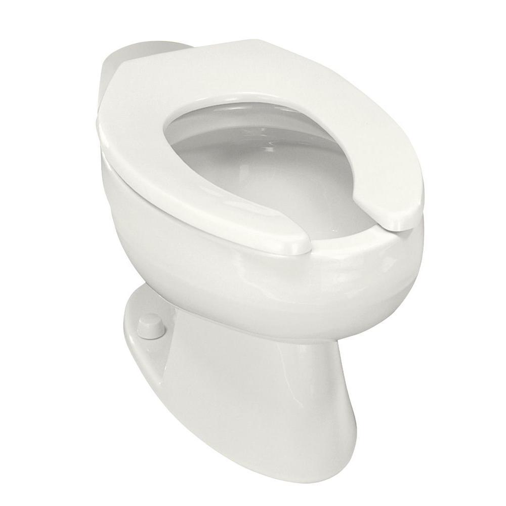 Kohler Wellcomme Elongated Toilet Bowl Only in White