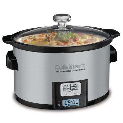 3-1/2 Qt. Programmable Slow Cooker
