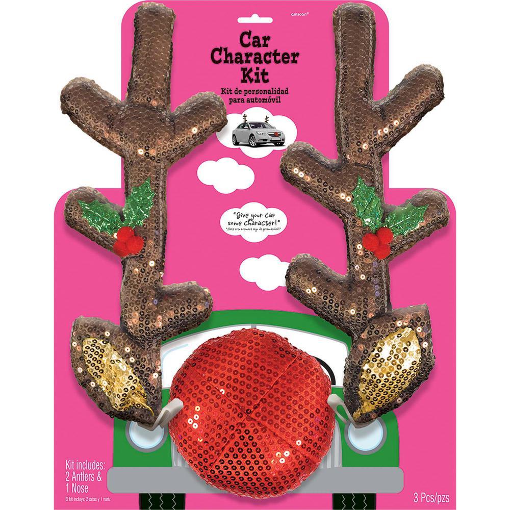 Christmas Glitzy Reindeer Car Kit
