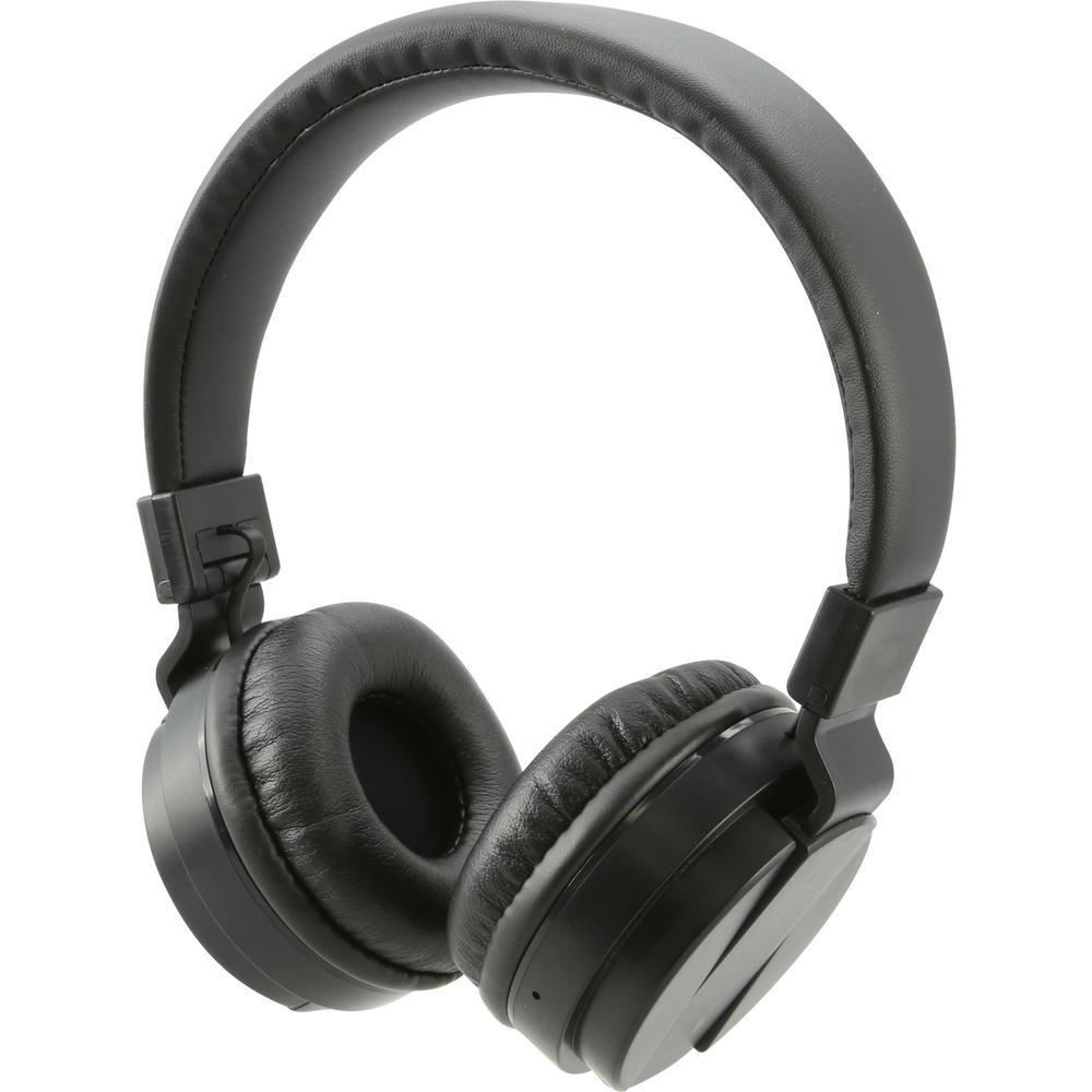 7cd1651ae82 iLive Bluetooth Wireless Headphone, Black-IAHB6B - The Home Depot