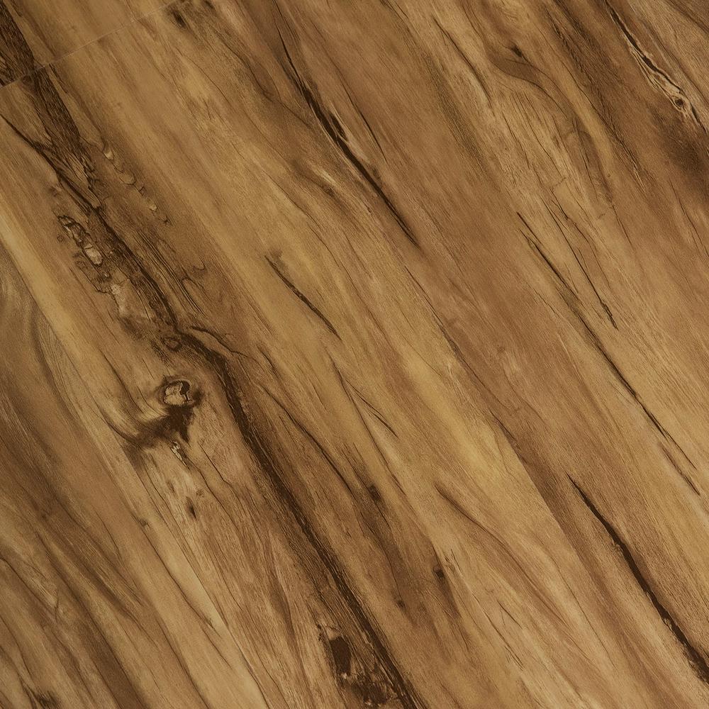 Home Legend Hand Scraped Woodland 6 mm x 7-1/16 in. Width x 48 in. Length Vinyl Plank Flooring (23.64 sq.ft/case)
