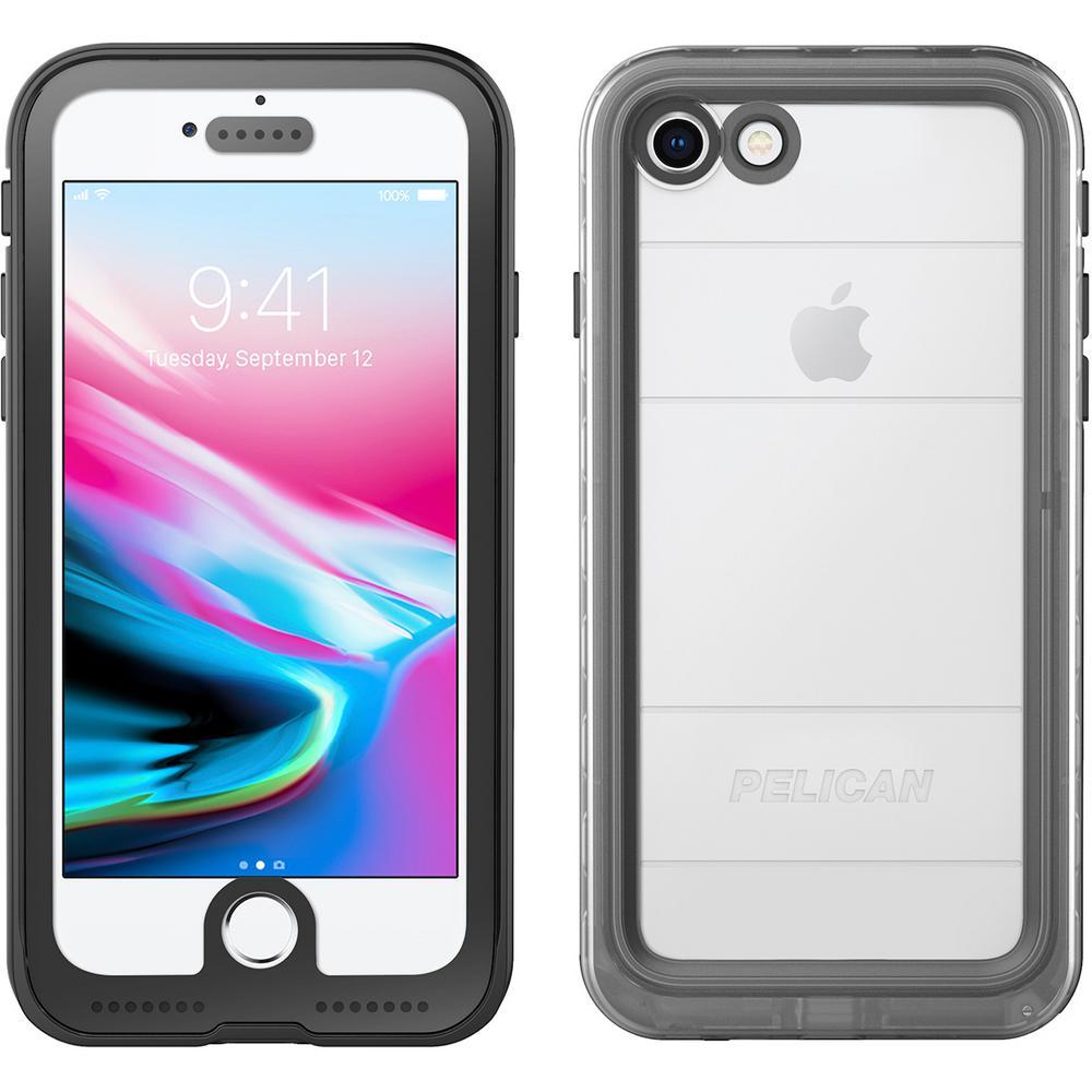 iPhone i7/i8 Marine Phone Case in Black/Clear