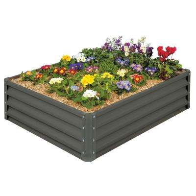 Raised Garden Bed- Galvanized Metal