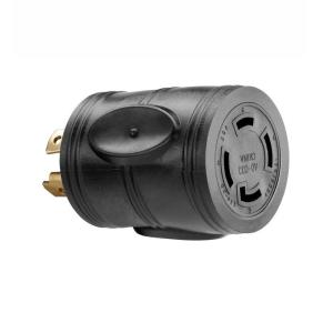 PowerFit 20 Amp 240-Volt to 30 Amp 240-Volt Outlet Adapter-PF922033 - The  Home Depot