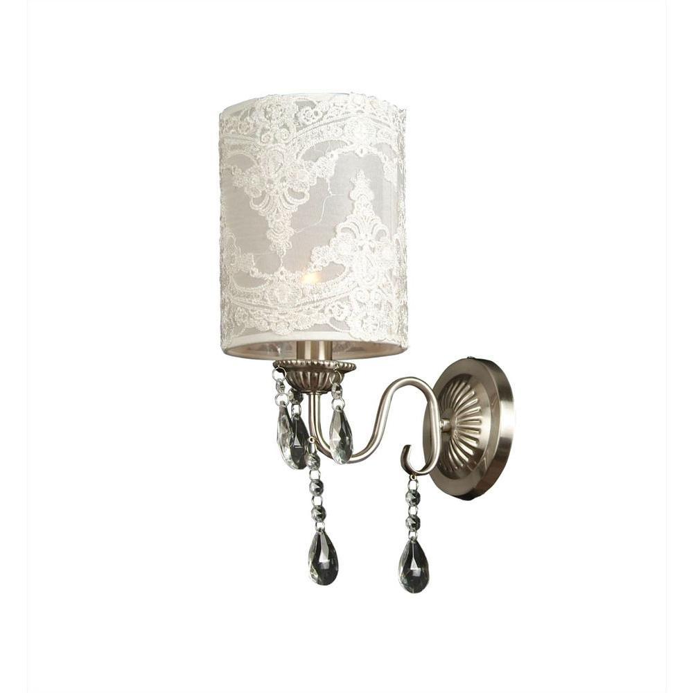 Filament Design Xavier 1-Light Cream Incandescent Wall Sconce