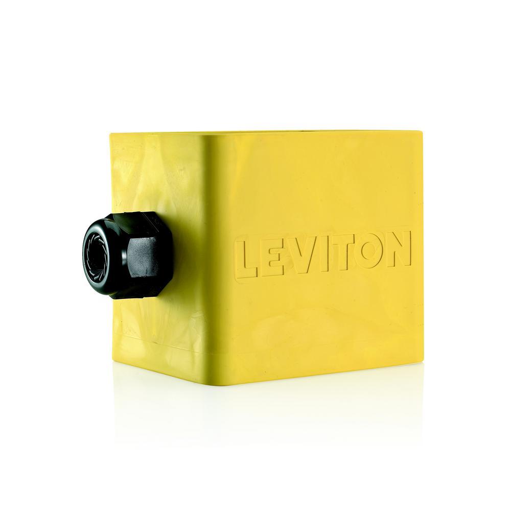 Leviton 2 Gang Standard Depth Pendant Style Cable Dia 0