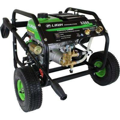 Pressure Storm Series 3,300 psi 2.5 GPM AR Axial Cam Pump Recoil Start Gas Pressure Washer with Panel Mounted Controls