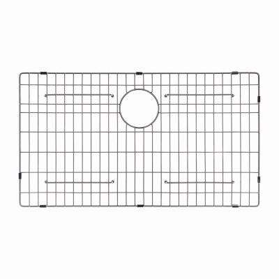 Stainless Steel Bottom Grid for KHF200-36 Single Bowl 36in. Farmhouse Kitchen Sink, 32 11/16in. x 15 11/16in. x 1 3/8in.