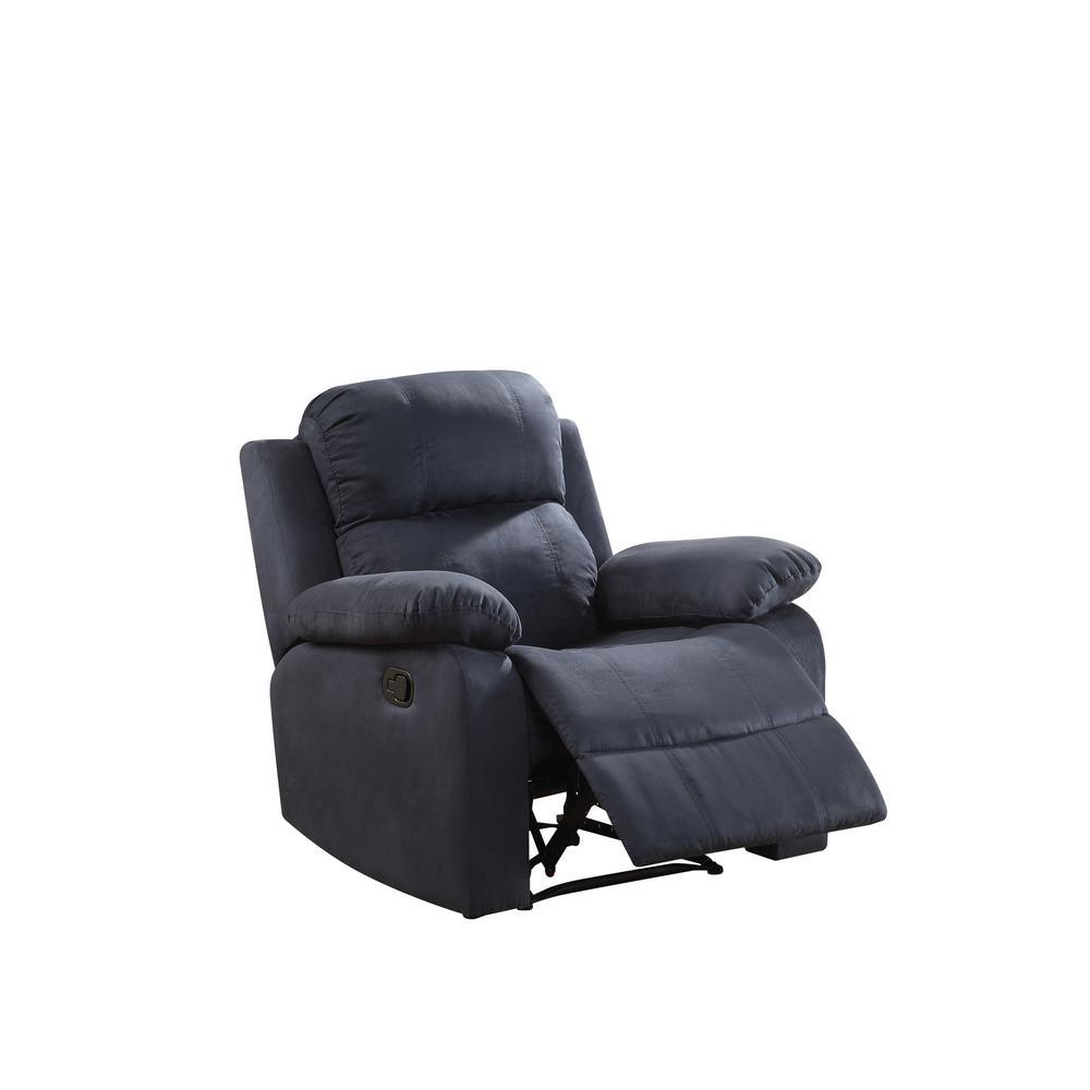 ACME Furniture Parklon Blue Recliner