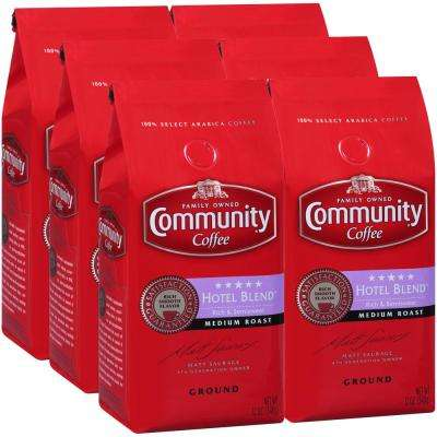 12 oz. 5-Star Hotel Blend Medium Roast Premium Ground Coffee (6-Pack)