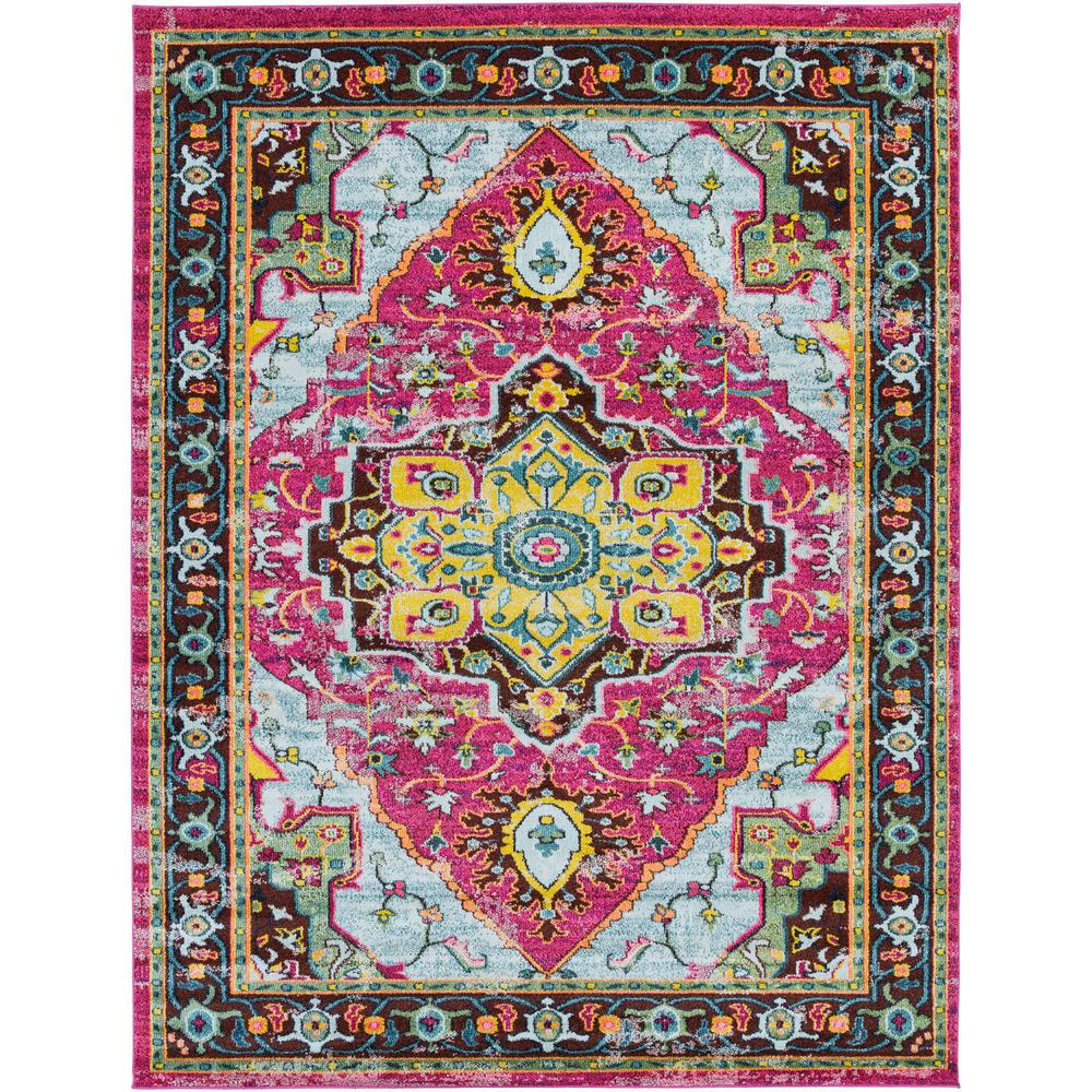 Artistic Weavers Yasuko Bright Pink 8 Ft X 10 Area Rug