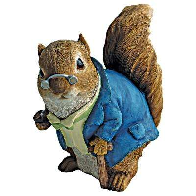 6 in. H Squirrel Grandfather Statue
