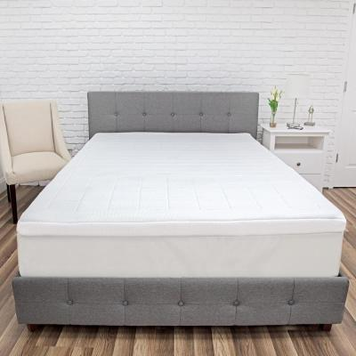 Euro Majestic 3 in. King Memory Foam 3-Zone Mattress Topper