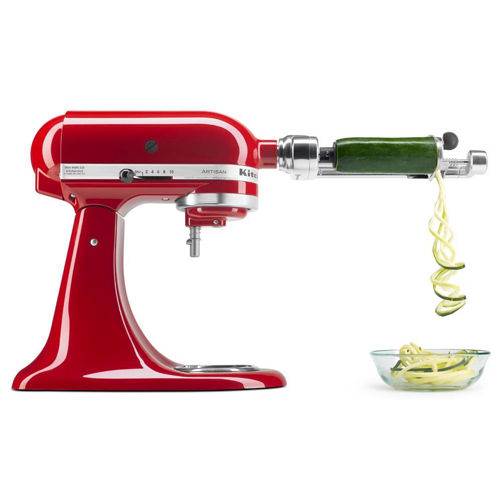 Stainless Steel Spiralizer Attachment for KitchenAid Mixer