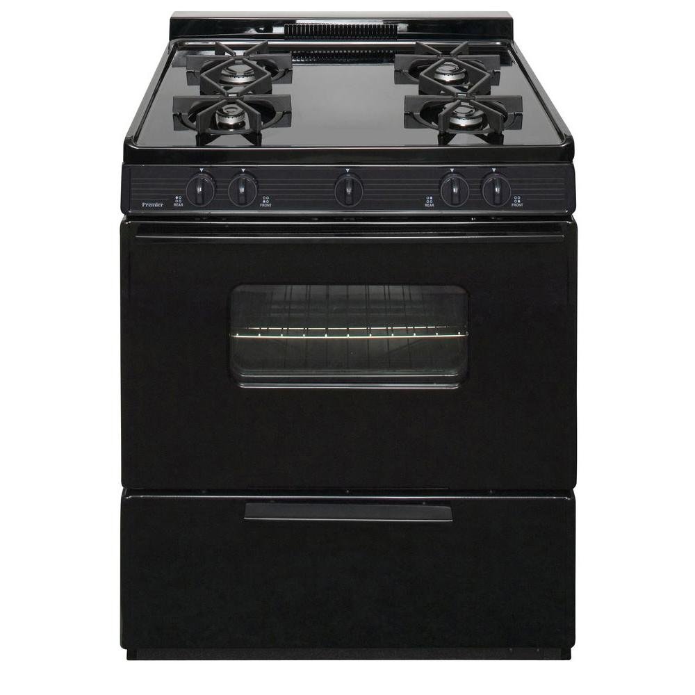 30 in. 3.91 cu. ft. Battery Spark Ignition Gas Range in