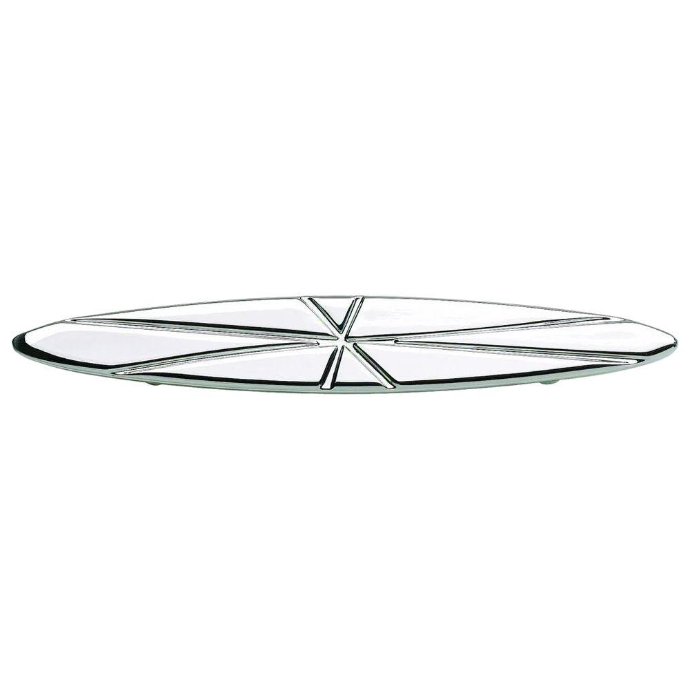 Atlas Homewares Modernist Collection 5 in. Polished Chrome Oval Pull