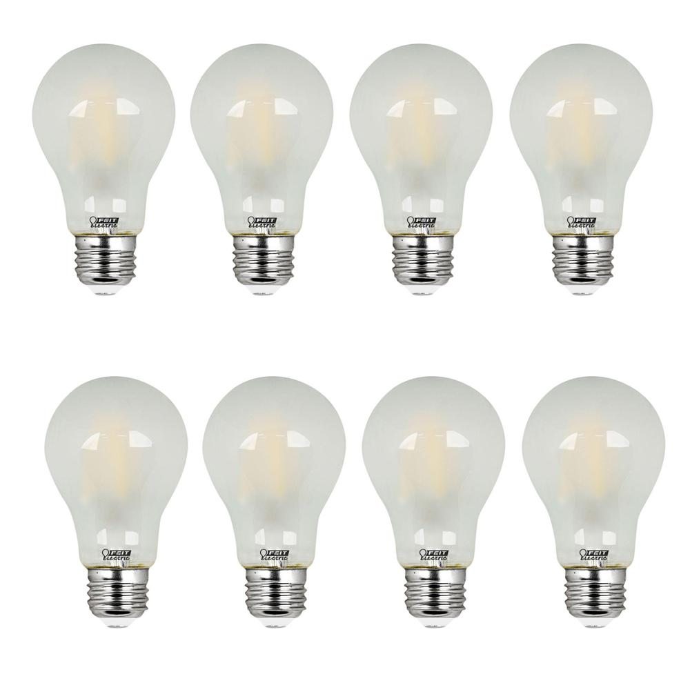 60W Equivalent Soft White A19 Frosted Filament LED Medium Base Light