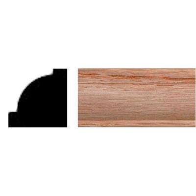5/8 in. x 5/8 in. x 8 ft. Oak Shoe Moulding