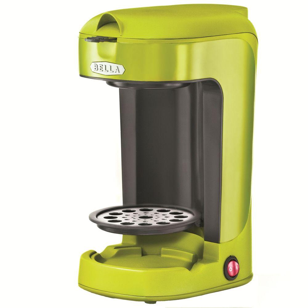 Bella 14 oz. Single Brew Coffee Maker in Lime